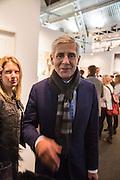SIR STUART ROSE, Preview for the London Art Fair,  Islington Business Design Centre. London. 13 January 2014