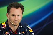 April 15-17, 2016: Chinese Grand Prix, Shanghai, Christian Horner, team principal of Red Bull Racing