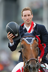 Devos Pieter (BEL) - Candy<br /> CN International Grand Prix<br /> CSIO Spruce Meadows - Calgary 2013<br /> © Dirk Caremans