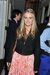 CRESSIDA BONAS sister of Isabella Anstruther-Gough-Calthorpe at a reception hosted by Beulah London and the United Nations to launch Beulah London's AW'11 Collection 'Clothed in Love' and the Beulah Blue Heart Campaign held at Dorsia, 3 Cromwell Road, London SW7 on 18th October 2011.