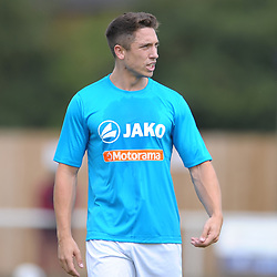 TELFORD COPYRIGHT MIKE SHERIDAN Adam Walker during the National League North fixture between Kettering Town and AFC Telford United at Latimer Park on Saturday, August 3, 2019<br /> <br /> Picture credit: Mike Sheridan<br /> <br /> MS201920-005