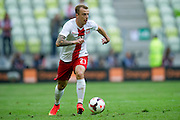Poland's Kamil Grosicki during international friendly match between Poland and Lithuania at PGE Arena in Gdansk, Poland.<br /> <br /> Poland, Gdansk, June 06, 2014<br /> <br /> Picture also available in RAW (NEF) or TIFF format on special request.<br /> <br /> For editorial use only. Any commercial or promotional use requires permission.<br /> <br /> Mandatory credit:<br /> Photo by &copy; Adam Nurkiewicz / Mediasport