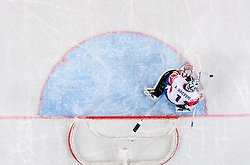 Andrej Hocevar of Slovenia during ice-hockey match between Slovenia and Japan at IIHF World Championship DIV. I Group A Slovenia 2012, on April 16, 2012 in Arena Stozice, Ljubljana, Slovenia. Slovenia defeated Japan 4-2. (Photo by Vid Ponikvar / Sportida.com)
