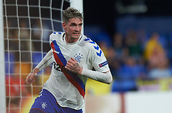 September 20, 2018 - Villarreal, Castellon, Spain - Kyle Lafferty of Rangers FC celebrates a goal during the UEFA Europa League Group G match between Villarreal CF and Rangers FC at La Ceramica Stadium on September 20, 2018 in Vila-real, Spain. (Credit Image: © Maria Jose Segovia/NurPhoto/ZUMA Press)