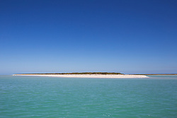 Sandy beach at Adele Island, a small island in the Indian Ocean off the Kimberley coast.