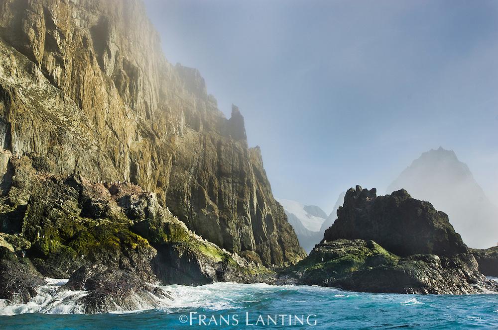 Coastline, Elephant Island, South Shetland Archipelago, Antarctic