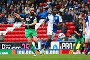 Bristol City striker, Aaron Wilbraham (18) during the Sky Bet Championship match between Blackburn Rovers and Bristol City at Ewood Park, Blackburn, England on 23 April 2016. Photo by Pete Burns.