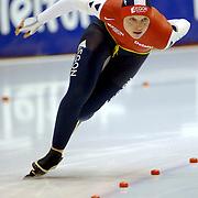 NLD/Heerenveen/20060122 - WK Sprint 2006, 2de 1000 meter dames, Sanne van der Star