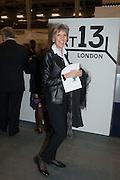 JANE CHURCHILL, Art13 London First night, Olympia Grand Hall, London. 28 February 2013