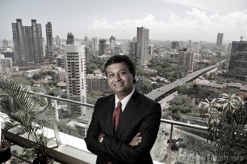 Ajay Srinivasan, CEO of Aditya Birla Financial poses outside his office in Mumbai, India on Thursday, June 3, 2010. <br /> (Photo by Kuni Takahashi)