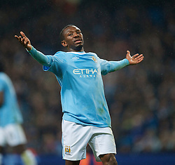 WIGAN, ENGLAND - Monday, March 29, 2010: Manchester City's Shaun Wright-Phillips is frustraited as he side struggle against Wigan Athletic during the Premiership match at the City of Manchester Stadium. (Photo by David Rawcliffe/Propaganda)