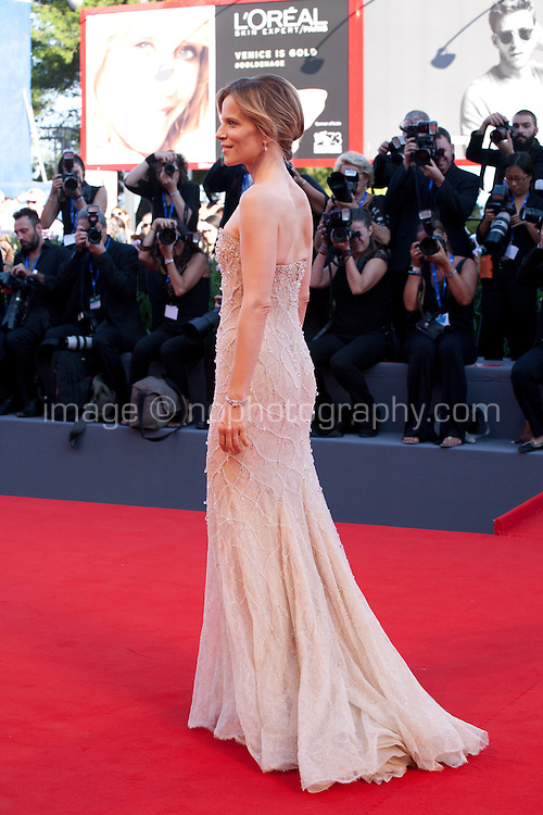 Sonia Bergamasco at the opening ceremony and premiere of the film La La Land at the 73rd Venice Film Festival, Sala Grande on Wednesday August 31st, 2016, Venice Lido, Italy.