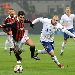 20100216: Footbal-Soccer - ITA, CL, Milan vs Manchester United