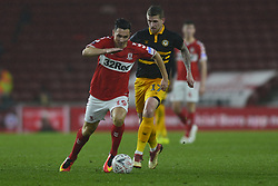 January 26, 2019 - Middlesbrough, North Yorkshire, United Kingdom - Stewart Downing on the attack during the FA Cup match between Middlesbrough and Newport County at the Riverside Stadium, Middlesbrough on Saturday 26th January 2019. (Credit Image: © Mi News/NurPhoto via ZUMA Press)
