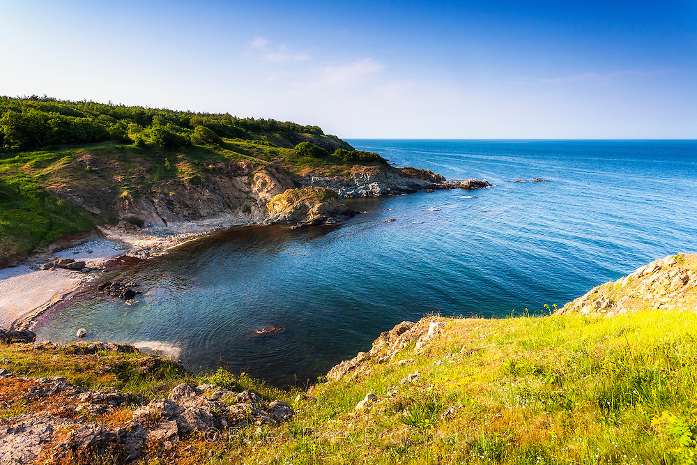 Coastline of Strandzha Mountain in Spring