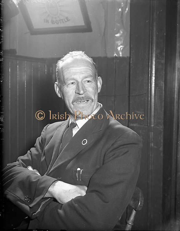 28/01/1957<br /> 01/28/1957<br /> 28 January 1957<br /> <br /> Ballinasloe Tinker Housing Story - Special for Sunday Express<br /> Mr Charlie Soden, Member of Urban Council