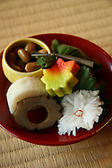 "Shojin Ryori Temple Cuisine - Zen Temple food or ""Shojin Ryori"" is vegetarian cuisine at its most refined consisting of pickled vegetables, plus a variety of tofu dishes beautifully arranged on lacquerware and an assortment of ceramic plates."