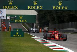 September 2, 2018 - Monza, Italy - Motorsports: FIA Formula One World Championship 2018, Grand Prix of Italy, ..#7 Kimi Raikkonen (FIN, Scuderia Ferrari) (Credit Image: © Hoch Zwei via ZUMA Wire)