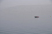 Fishing on the Sea of Galilee, Israel