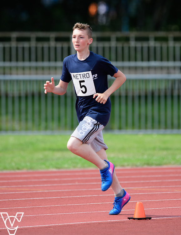 Metro Blind Sport's 2017 Athletics Open held at Mile End Stadium.  800m.  Bradley Stannett<br /> <br /> Picture: Chris Vaughan Photography for Metro Blind Sport<br /> Date: June 17, 2017