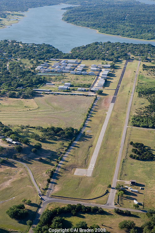 Spicewood Airport on Lake Travis serves a thriving community of pilots near Austin, Texas.