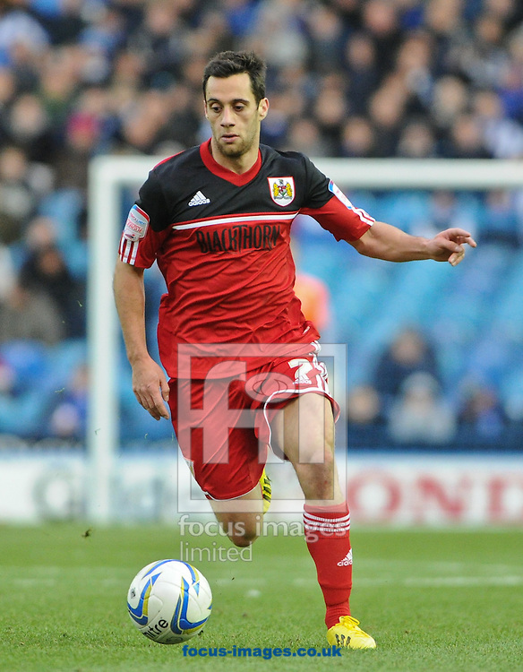 Picture by Richard Land/Focus Images Ltd +44 7713 507003.08/12/2012.Sam Baldock of Bristol City during the npower Championship match at Hillsborough, Sheffield.