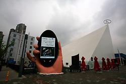 CHINA PUDONG DISTRICT SHANGHAI 23MAY10 - Broad pavillion at the Expo 2010 in Shanghai, China...jre/Photo by Jiri Rezac..© Jiri Rezac 2010
