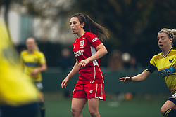Chloe Arthur of Bristol City Women looks on - Rogan Thomson/JMP - 06/11/2016 - FOOTBALL - The Northcourt Stadium - Abingdon-on-Thames, England - Oxford United Women v Bristol City Women - FA Women's Super League 2.
