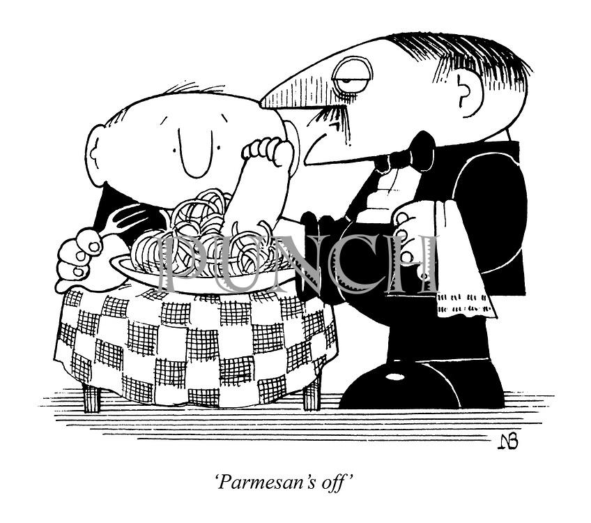 'Parmesan's off'