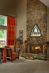 fireplace. Home Living Room