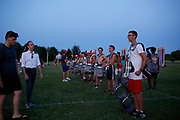 Shadow Drum and Bugle Corps practices in Oregon, Wisconsin on August 1, 2019. <br /> <br /> Beth Skogen Photography - www.bethskogen.com