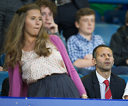 LIVERPOOL, ENGLAND - Monday, August 20, 2012: Manchester United's Ryan Giggs before the Premiership match against Everton at Goodison Park. (Pic by David Rawcliffe/Propaganda)