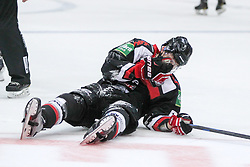 19.10.2014, LANXESS Arena, Köln, GER, DEL, Kölner Haie vs ERC Ingolstadt, 12. Runde, im Bild Evan Rankin (Koelner Haie), Koelner Haie - ERC Ingolstadt am 19.10.2014 in der Lanxess-Arena in Koeln (Nordrhein-Westfalen). // during Germans DEL Icehockey League 12 th round match between Cologne Haie and ERC Ingolstadt at the LANXESS Arena in Köln, Germany on 2014/10/19. EXPA Pictures © 2014, PhotoCredit: EXPA/ Eibner-Pressefoto/ Kohring_Fuss<br /> <br /> *****ATTENTION - OUT of GER*****