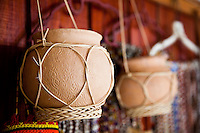 One of Sarawak's master craftsmen and well known pottery maker can be found at Nanga Sumpa Longhouse.