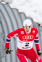 18.01.2014, Casino Arena, Seefeld, AUT, FIS Weltcup Nordische Kombination, Seefeld Triple, Langlauf, im Bild Haavard Klemetsen (NOR) // Haavard Klemetsen (NOR) during Cross Country at FIS Nordic Combined World Cup Triple at the Casino Arena in Seefeld, Austria on 2014/01/18. EXPA Pictures © 2014, PhotoCredit: EXPA/ JFK