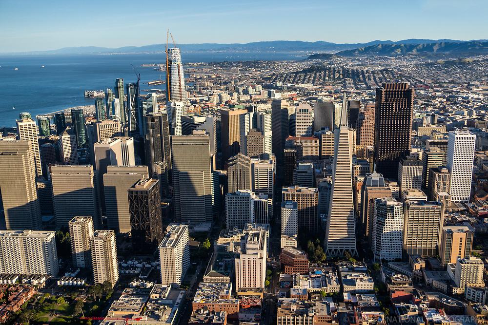 San Francisco Skyline & Bay