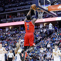 08 March 2017: Washington Wizards guard John Wall (2) goes for the dunk during the Washington Wizards 123-113 victory over the Denver Nuggets, at the Pepsi Center, Denver, Colorado, USA.