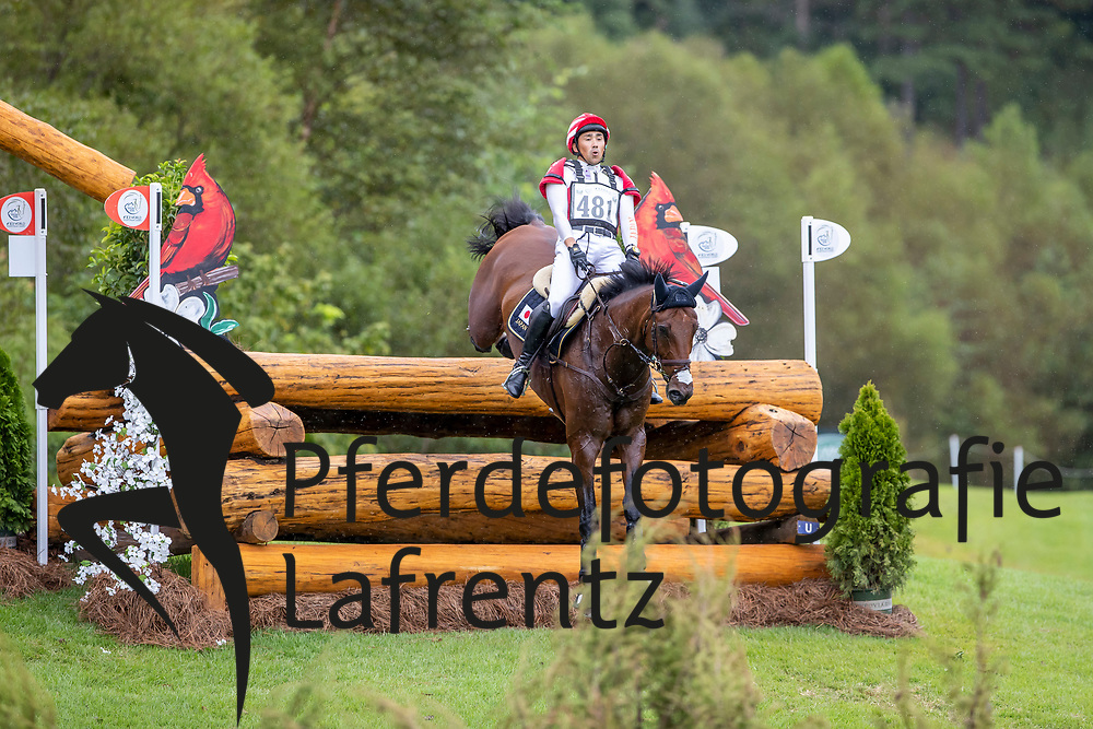 OIWA Yoshiaki (JPN), Calle 44<br /> Tryon - FEI World Equestrian Games™ 2018<br /> Vielseitigkeit Teilprüfung Gelände/Cross-Country Team- und Einzelwertung<br /> 15. September 2018<br /> © www.sportfotos-lafrentz.de/Stefan Lafrentz