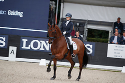 Fry Charlotte, GBR, Graaf Leatherdale T<br /> Longines FEI/WBFSH World Breeding Dressage Championships for Young Horses - Ermelo 2017<br /> © Hippo Foto - Dirk Caremans<br /> 05/08/2017