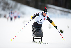 ESKAU Andrea, GER at the 2014 IPC Nordic Skiing World Cup Finals - Sprint