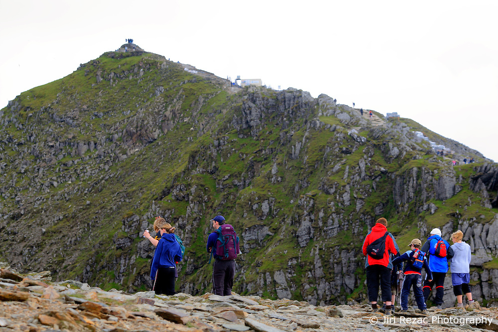 UK WALES LLANBERIS 15JUN08 - Hikers ascend Mount Snowdon, the last of the mountains of the Three Peaks Challenge Event in Snowdonia National Park, Wales...jre/Photo by Jiri Rezac ..© Jiri Rezac 2008..Contact: +44 (0) 7050 110 417.Mobile:  +44 (0) 7801 337 683.Office:  +44 (0) 20 8968 9635..Email:   jiri@jirirezac.com.Web:    www.jirirezac.com..© All images Jiri Rezac 2008 - All rights reserved.