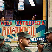 VENEZUELAN POLITICS / POLITICA EN VENEZUELA<br /> Venezuelan Military / Militares Venezolanos<br /> Caracas - Venezuela 2007<br /> (Copyright © Aaron Sosa)