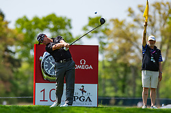 May 19, 2019 - Farmingdale, NY, U.S. - FARMINGDALE, NY - MAY 19: Charley Hoffman of the United States of America plays his shot from the tenth tee during Round 4 of the PGA Championship Tournament on May 19, 2019, at Bethpage State Park in Farmingdale, NY (Photo by John Jones/Icon Sportswire) (Credit Image: © John Jones/Icon SMI via ZUMA Press)