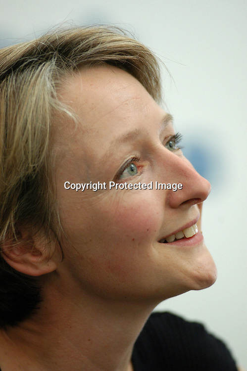 British writer and jourmalist Joanna Pitman<br /> at the Edinburgh International Book Festival 2003<br />                                                  <br /> copyright: Pascal Saez<br /> Pascal Saez / Writer Pictures