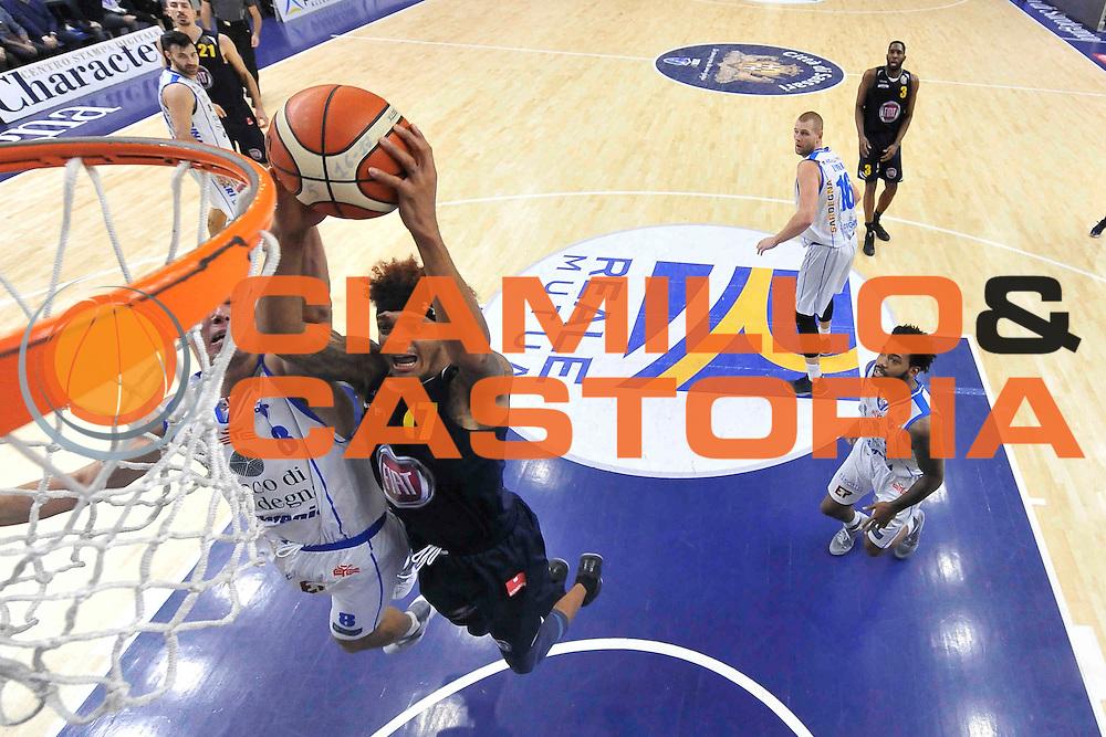 SASSARI 27 DICEMBRE 2016<br /> LegaBasket Serie A 2016/2017<br /> Dinamo Banco di Sardegna Sassari - Fiat Auxilium Torino<br /> NELLA FOTO Deron Washington<br /> FOTO CIAMILLO