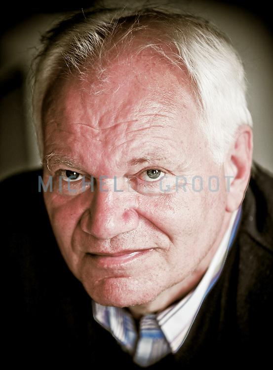 Gert Visser, Docent Psychologie aan de RuG op April 24, 2007 in Groningen, The Netherlands. (Photo by Michel de Groot)