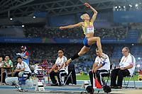 ATHLETICS - IAAF WORLD CHAMPIONSHIPS 2011 - DAEGU (KOR) - DAY 2 - 28/08/2011 - WOMEN LONG JUMP FINAL - CAROLINA KLUFT (SWE) - PHOTO : FRANCK FAUGERE / KMSP / DPPI