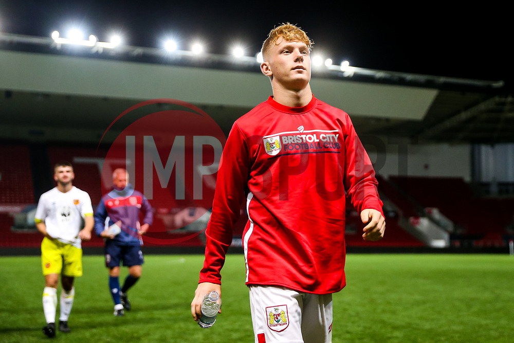 Sam Pearson of Bristol City U23 - Rogan/JMP - 04/09/2018 - Ashton Gate Stadium - Bristol, England - Bristol City U23 v Hull City U23.