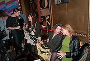 EMILY MARSH; VALERIA NAPOLEONE; STEFANIA PRAMMA; CAROLA GOLDING, Party for the launch of House of Voltaire. , SKETCH, 9 CONDUIT STREET, London. 20 November 2012