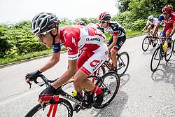 Gorazd Per (SLO) of KK Adria Mobil during Stage 2 of 24th Tour of Slovenia 2017 / Tour de Slovenie from Ljubljana to Ljubljana (169,9 km) cycling race on June 16, 2017 in Slovenia. Photo by Vid Ponikvar / Sportida